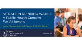 IEC Releases Report Raising Health Concerns About Nitrate in Drinking Water