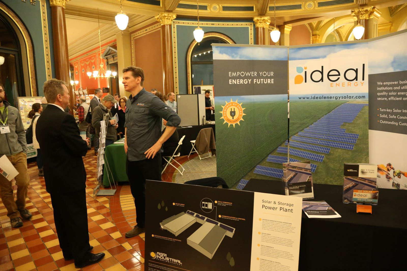 Enviro Lobby Day Exhibitor Ideal Energy 2020