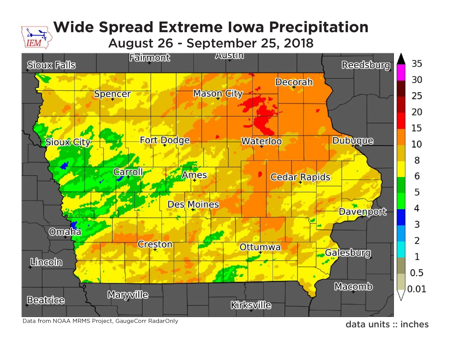 IEC joins call for planning and preparation as extreme weather intensifies in Iowa