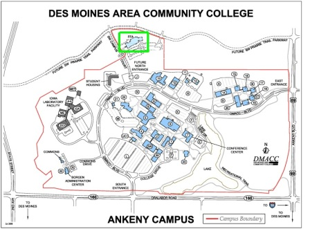 Dmacc Ankeny Campus Map Directions and Parking   Iowa Environmental Council