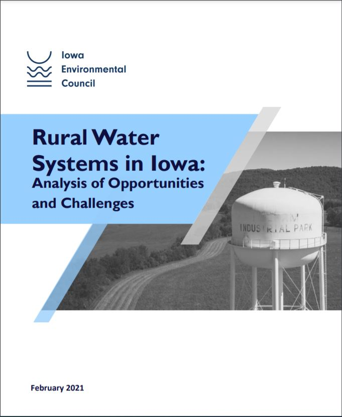 Rural Water Systems in Iowa