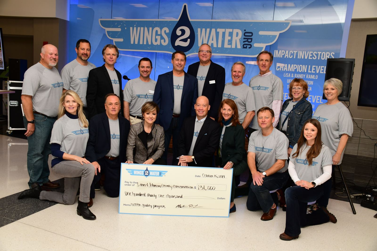 Wings to Water Donations